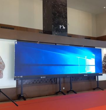 Project Video Wall Angkasa Pura